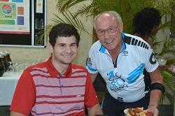 photo of James Rigal and Bill Borrow
